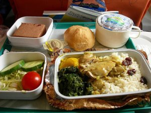 Caribbean Airlines: almost unique for giving passengers real food in-flight