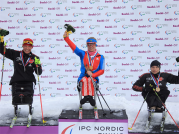 Paralympic cross-country skiers, one of the groups competing in Sochi, Russia
