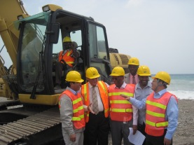 CHEC engineers are an integral part of redeveloping Jamaica