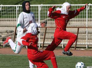 Iranian women's soccer