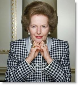 "The ""Iron Lady"", Margaret Thatcher"