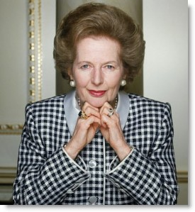 "The ""Iron Lady"", Margaret Thatcher"