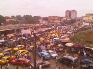 Conakry traffic chaos