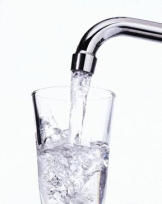 Clear water from the tap?