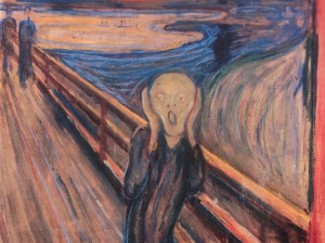 Munsch's 'The Scream'...because we have no water