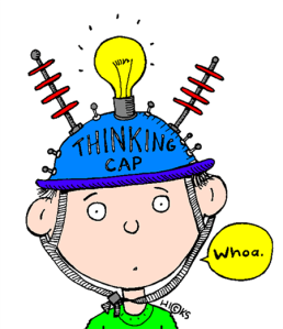 Get on your thinking cap. Does it fit well?