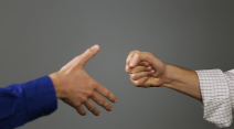 Handshake or fist bump? Pass on your germs with care