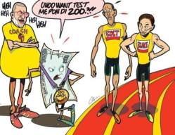 The J$ sprinted past 100 to the US$. Records are to be broken... (Courtesy of The Jamaica Observer)