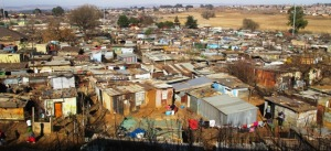 Part of Soweto Township
