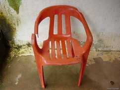 Not the actual broken chair, but a good enough image of one