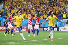 Neymar! Scored the 2nd goal from a penalty kick