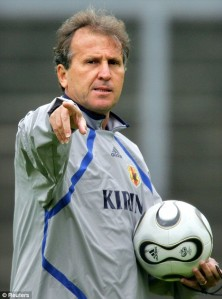 Zico, in his days coaching Japan