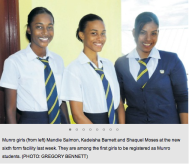 We are Munro College girls. Oh, no more? (Courtesy of Jamaica Observer)