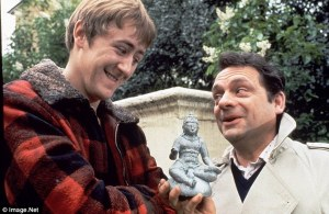 Del Boy had his plonker pulled many times. Look at his smile.