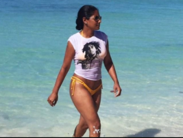 Lisa Hanna being extraordinary in her normality