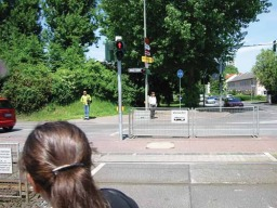 Germans tend not to cross until they are instructed to do so