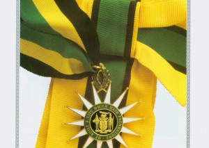 The Order of National Hero. Of course you won't see anyone wearing it, since they are all deceased.