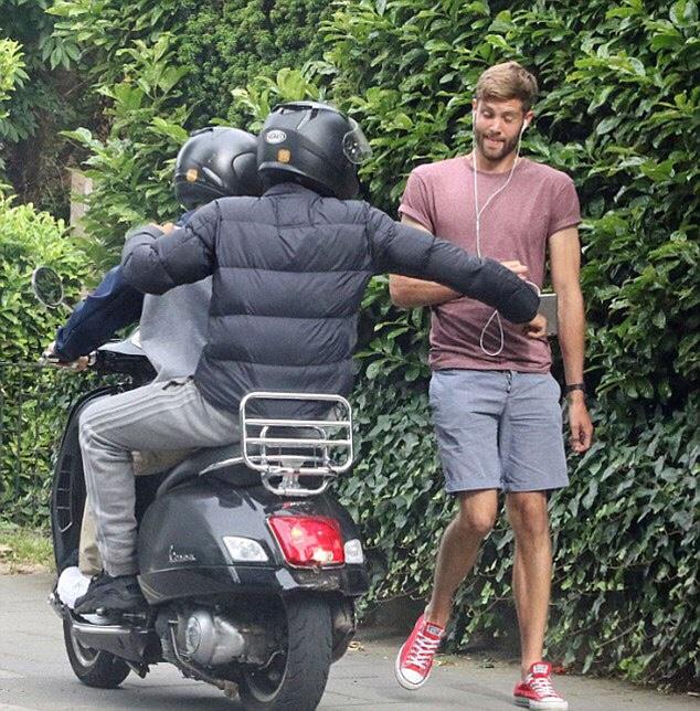 Motor scooter muggers